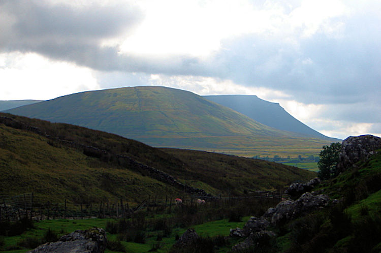 Simon Fell and Ingleborough