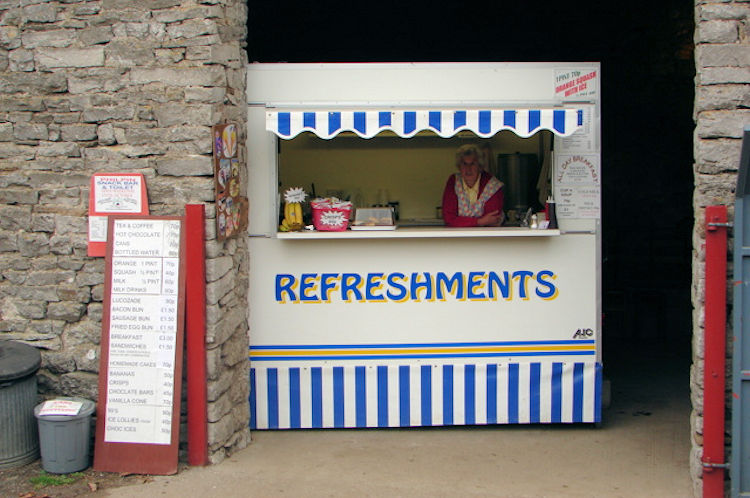 Three Peaks refreshment stop
