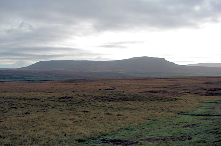 Pen-y-ghent as seen from near Sulber Nick