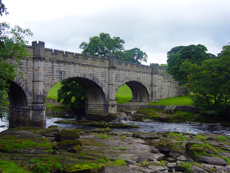Waterworks Bridge across the River Wharfe