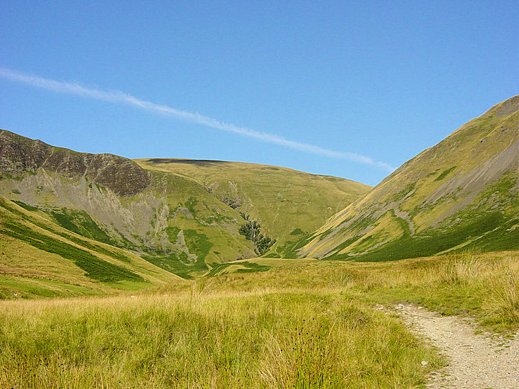 Approaching the Howgill Fells from Low Haygarth