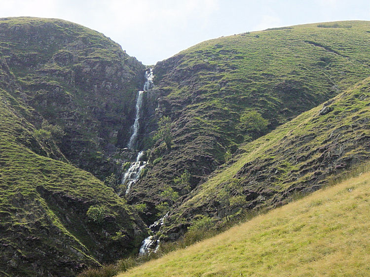 View to Cautley Spout from Bowderdale Head