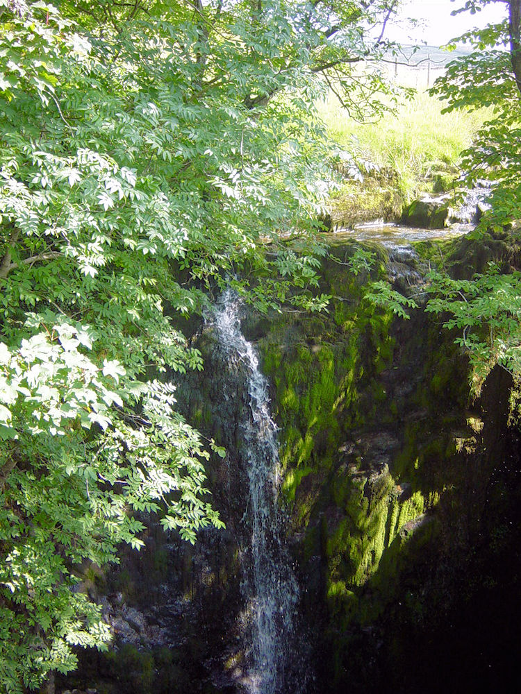 The plunge of Catrigg Force