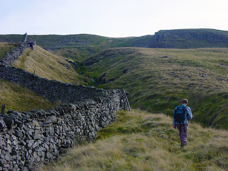 Climbing to Plover Hill from Swarth Gill Gate