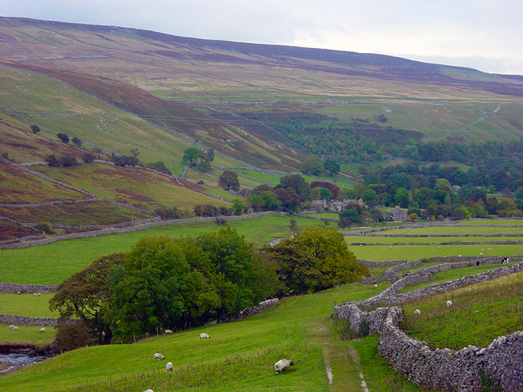 Heading back into Littondale