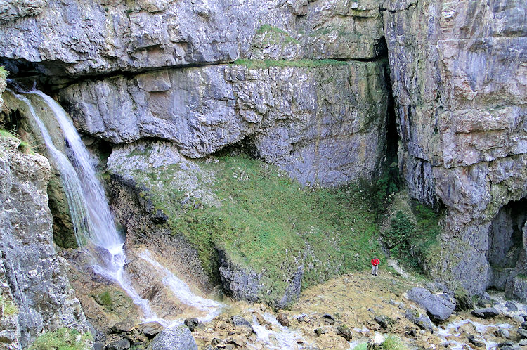 Gordale Scar Upper Waterfall