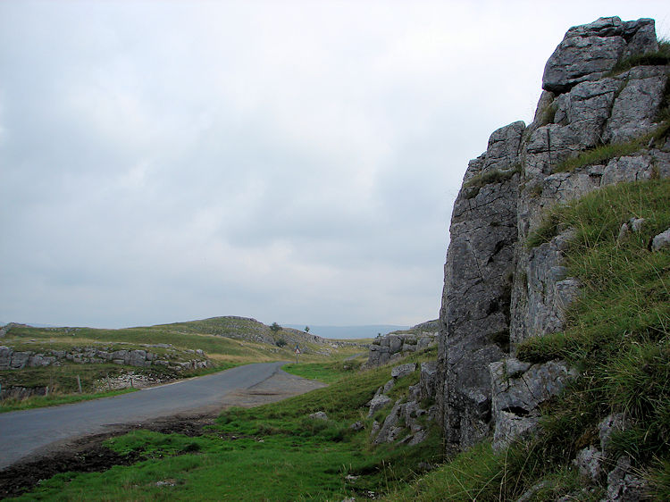 Spectacular limestone outcrops at Winskill Stones