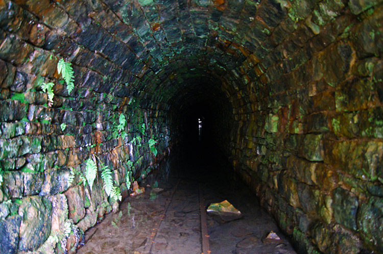 Water culvert at Sir Francis Mine