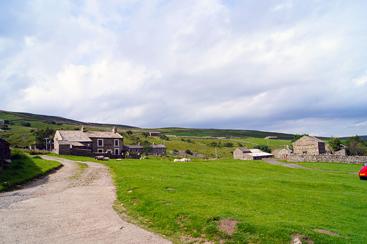 The hamlet of Blades in Swaledale