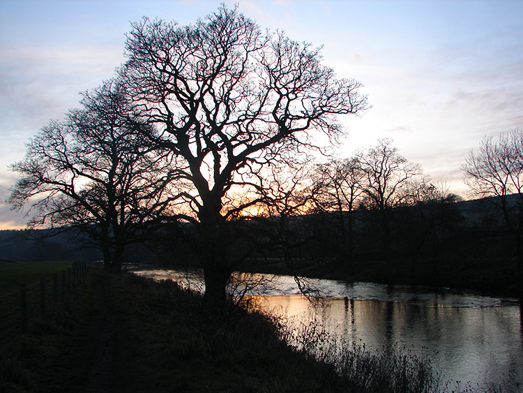 River Wharfe at Dusk