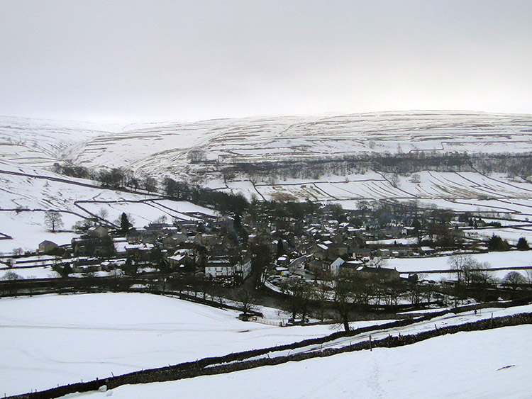 Kettlewell in the snow