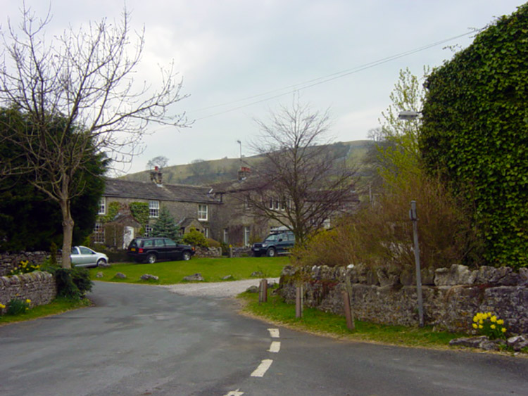 Starting point of the walk in Coniston village