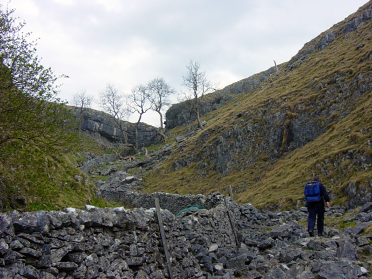 Walking from Coniston Dib to meet the Dales Way