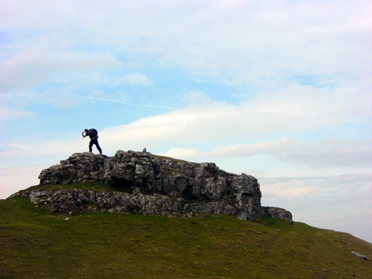Fun on Conistone Pie