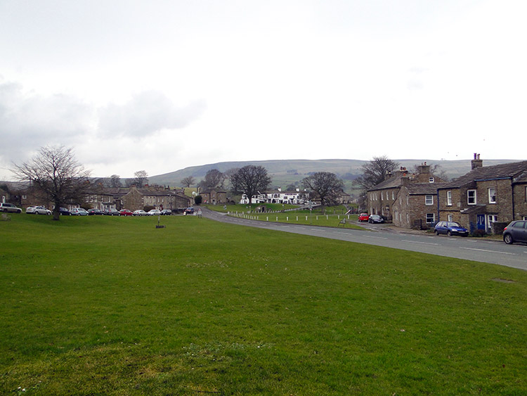The village green in Bainbridge