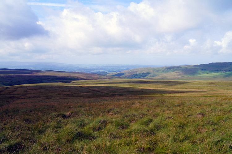 The view south west from Crag Hill