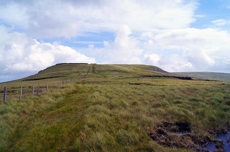 The summit of Crag Hill