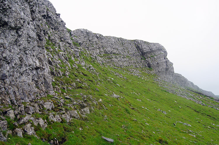 Up close to Ellerkin Scar