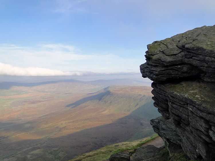 View from the cairn of Swine Tail, Ingleborough
