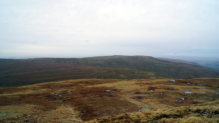 View over Kingsdale to Great Coum