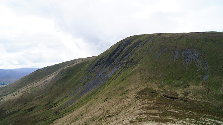 The steep east face of Yarlside