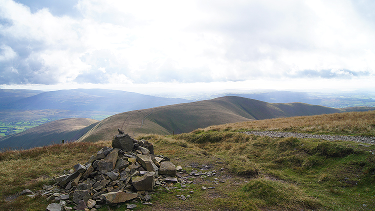 Another small cairn on Bram Rigg Top