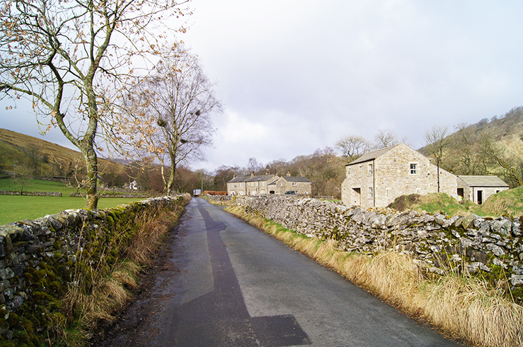 Following the road from Hubberholme