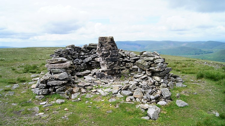 Summit of Wild Boar Fell