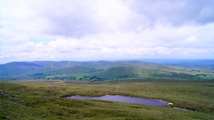 Sand Tarn and the Howgill Fells