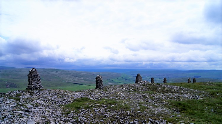 The Cairns of Wild Boar Fell