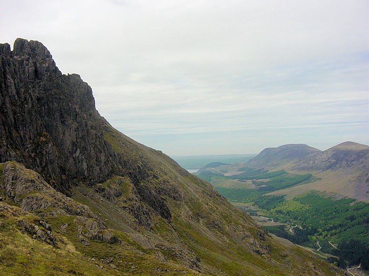 Ennerdale as seen from Pillar