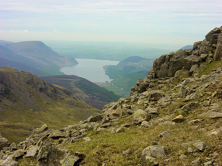 Wast Water as seen from Pillar