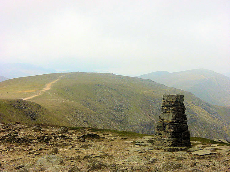 Coniston Old Man trig point