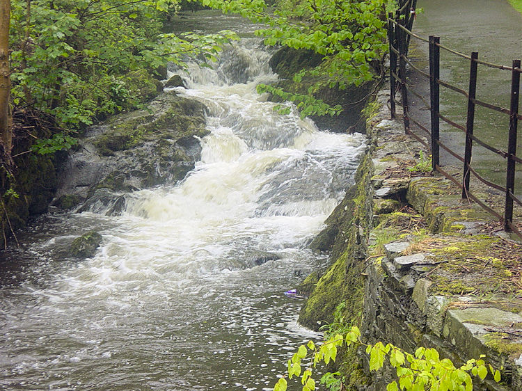 The River Rothay at Ambleside