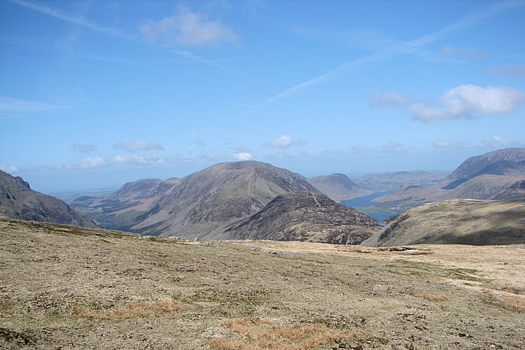 View to Buttermere, Crummock Water and Ennerdale