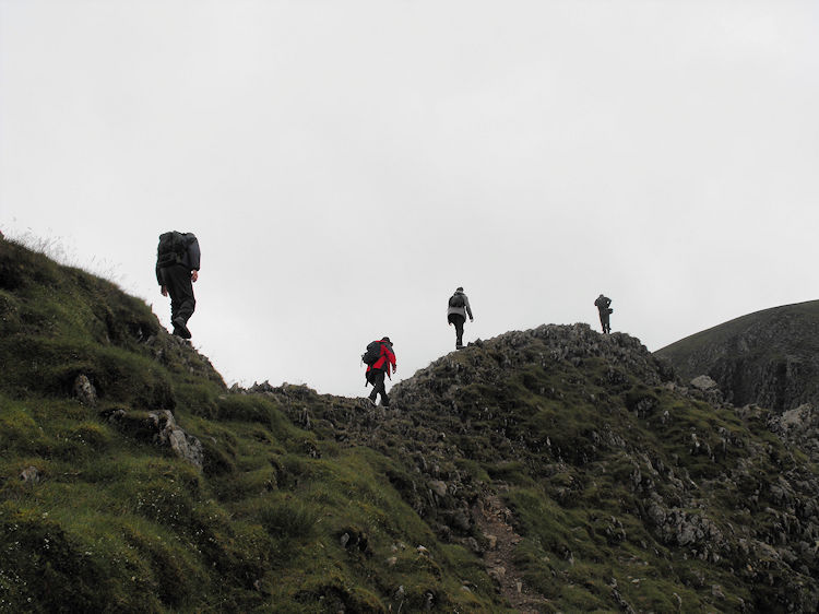 Crossing Striding Edge