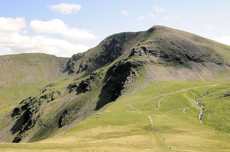Coledale Hause, Sand Hill and Hopegill Head