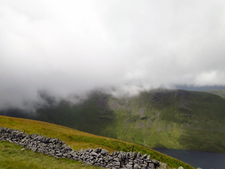 Cloud descending over Hayeswater
