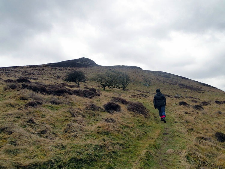 Walking to West Crag on Binsey