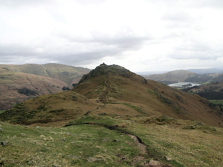 Helm Crag from Gibson Knott