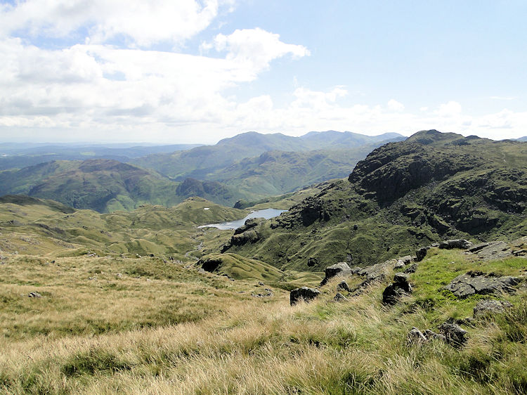 Codale Tarn comes into view