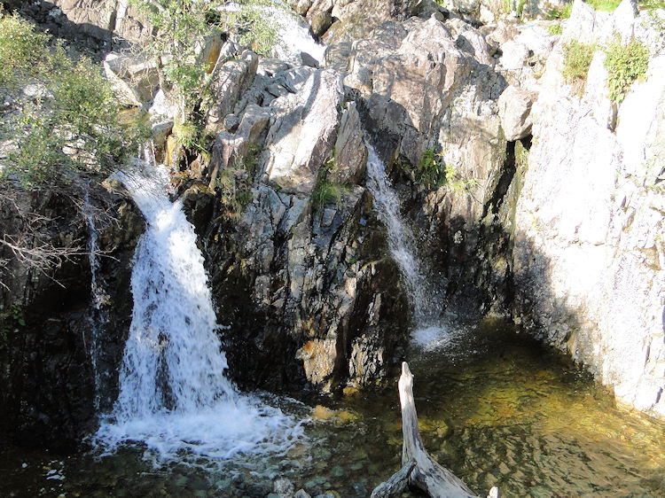 Waterfalls are plentiful in Stickle Ghyll
