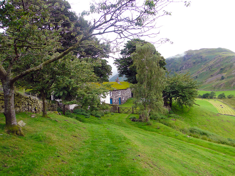 Cotehow Cottage at the head of Martindale