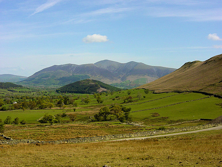 View from Little Town to Skiddaw
