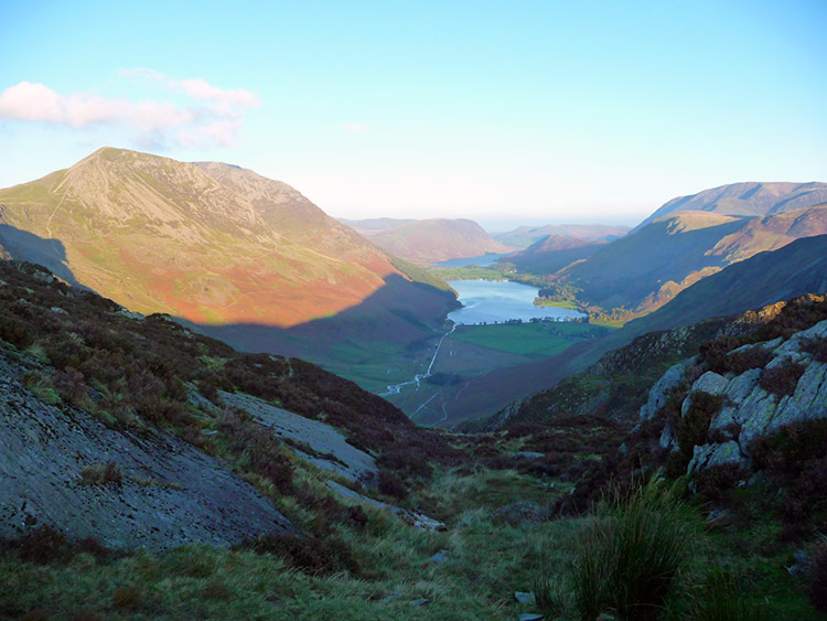 Buttermere and Crummock Water from Haystacks