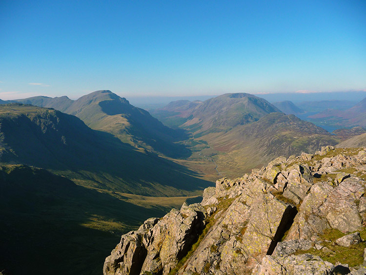 The Ennerdale valley as seen from Green Gable