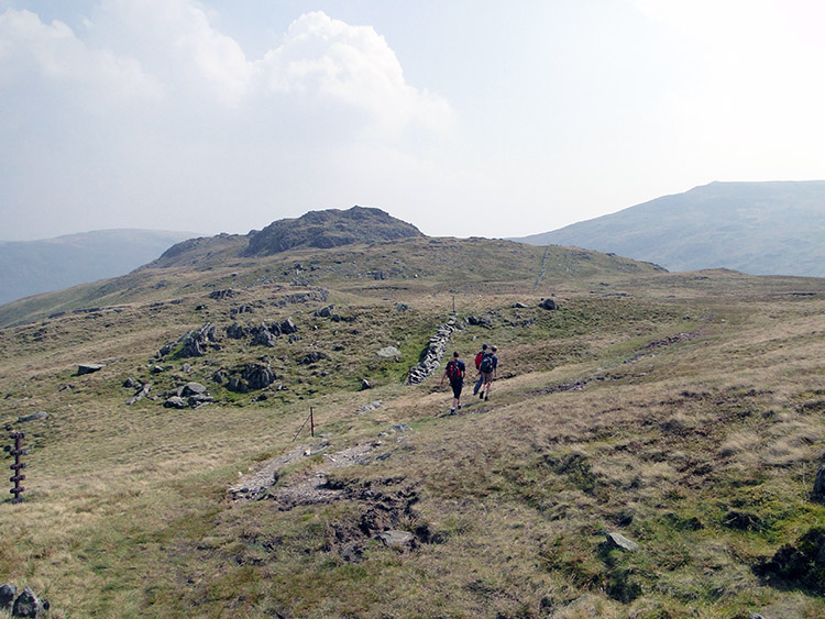 Walking from Dove Crag to Little Hart Crag is wonderful