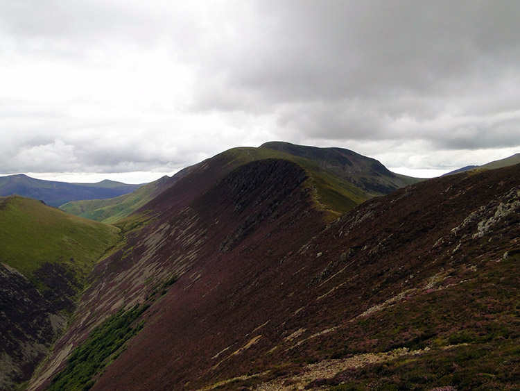 The ridge from Causey Pike to Scar Crags