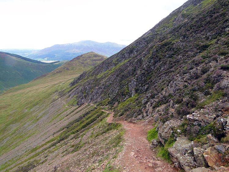 Descending from Scar Crags to High Moss