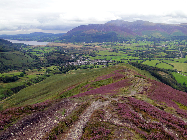 The view to Bassenthwaite Lake from Barrow